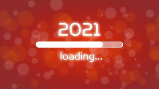 2021年正在加载中创意背