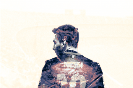 足球巨星利昂内尔·梅西