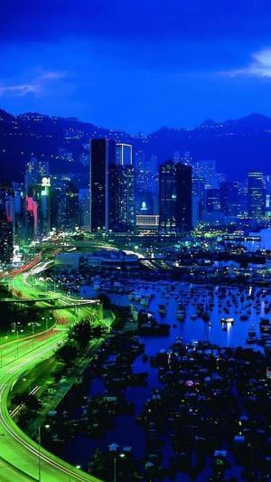 美丽的城市夜景风光
