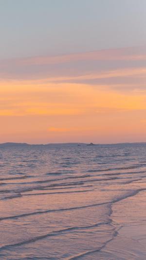 美丽的日落黄昏