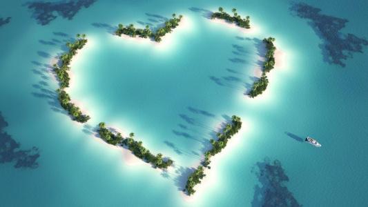 美丽的海岛风光