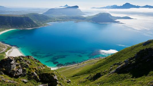 挪威山水自然风光